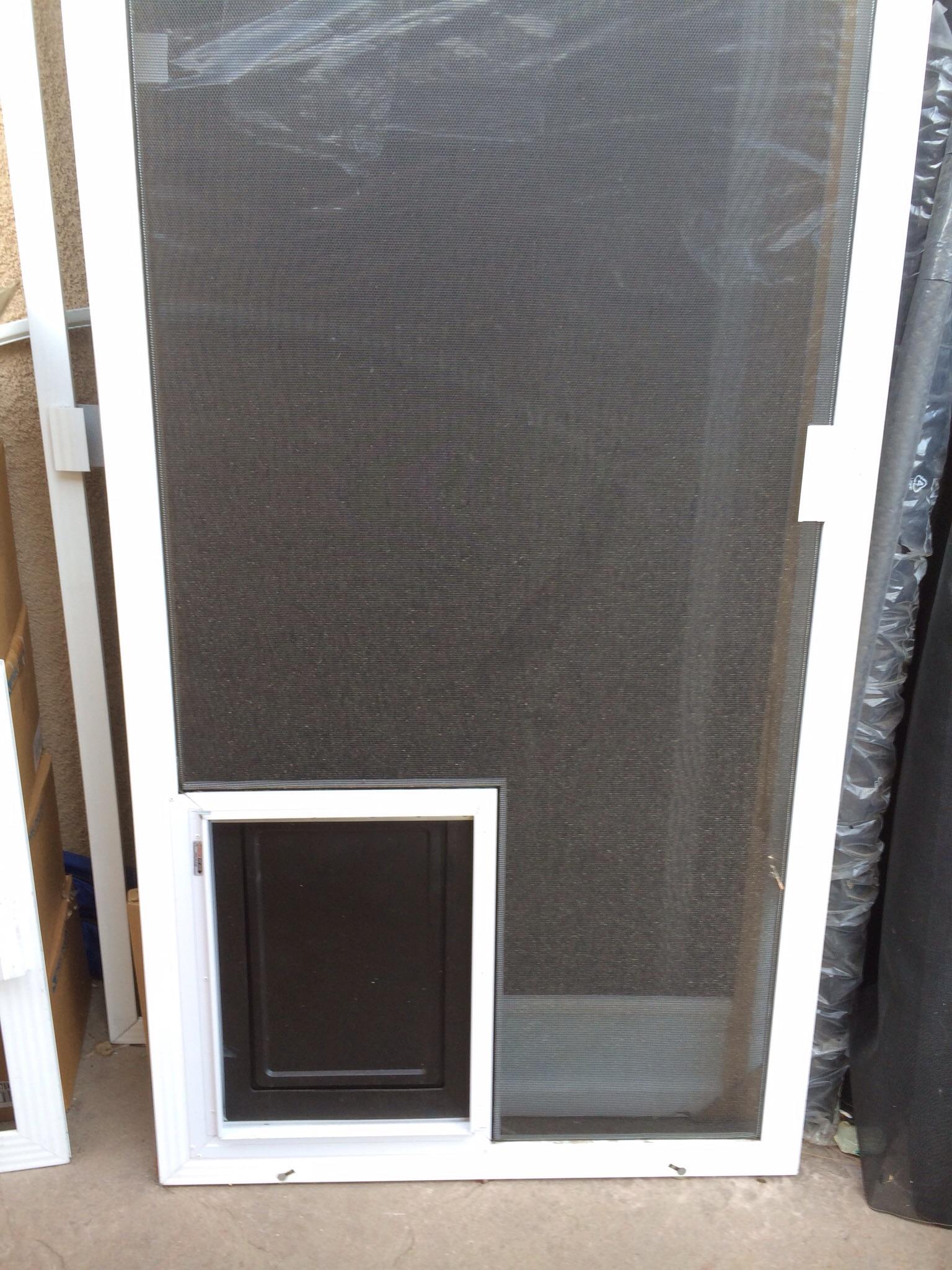 Dog Door For Sliding Door Comfort Your Pets In A Trendy
