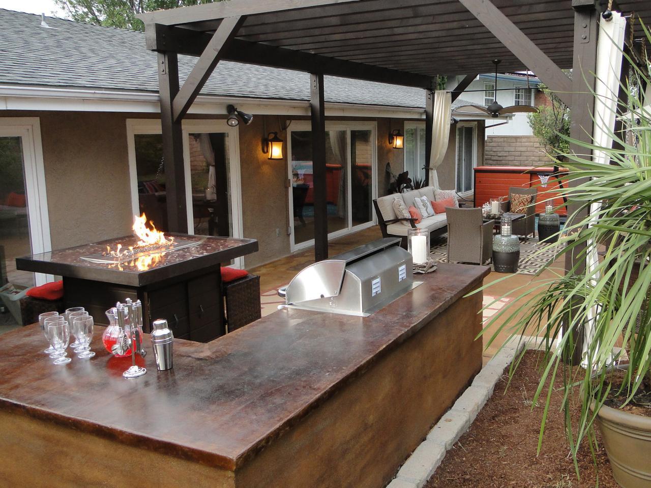 Portable outdoor bar designs makes a perfect addition ...