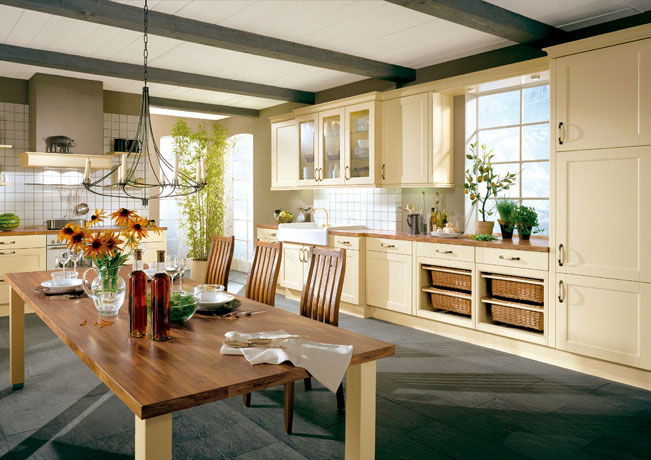 Cottage Design Kitchen Ideas ~ Country cottage kitchen designs make a lively and