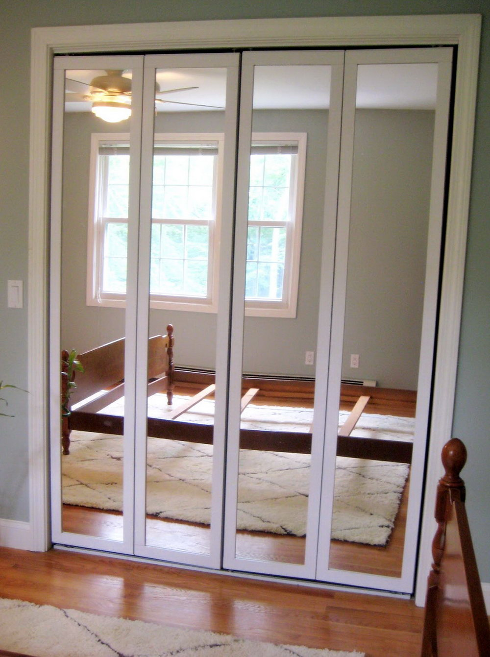 Mirrored Closet Doors Menards A Simple Upgrade To Any