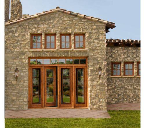 5 foot exterior french doors photo - 2