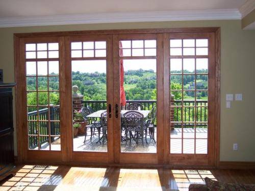 5 foot exterior french doors photo - 5