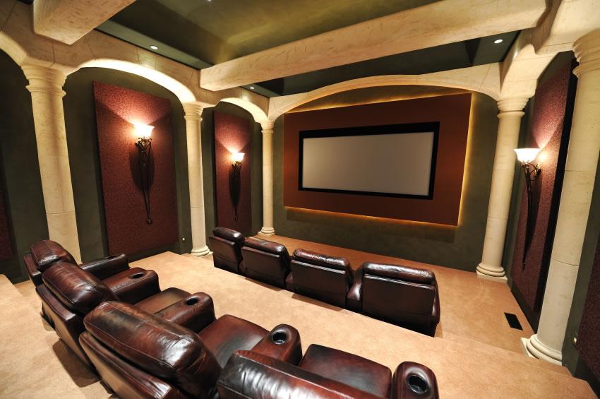 Home Theater Design photo - 5