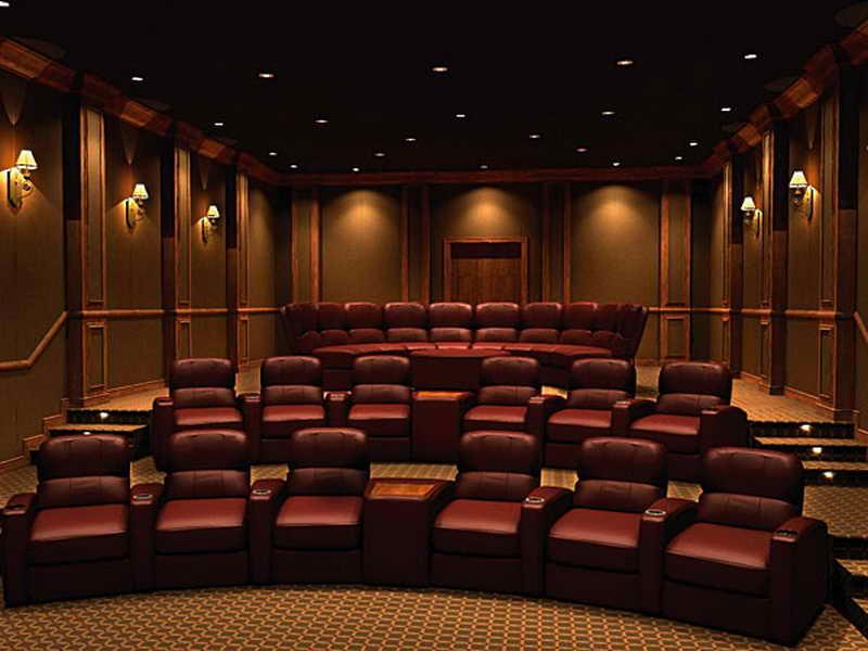 Home Theater Design photo - 6