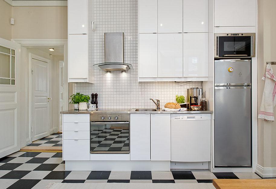 White Modern Kitchen photo - 1