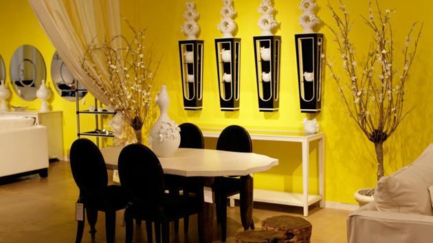 Yellow Dining Room photo - 4