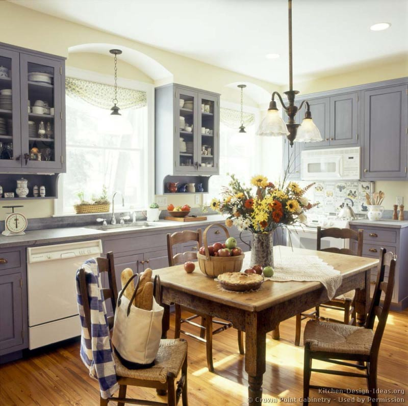 american country kitchen designs photo - 5