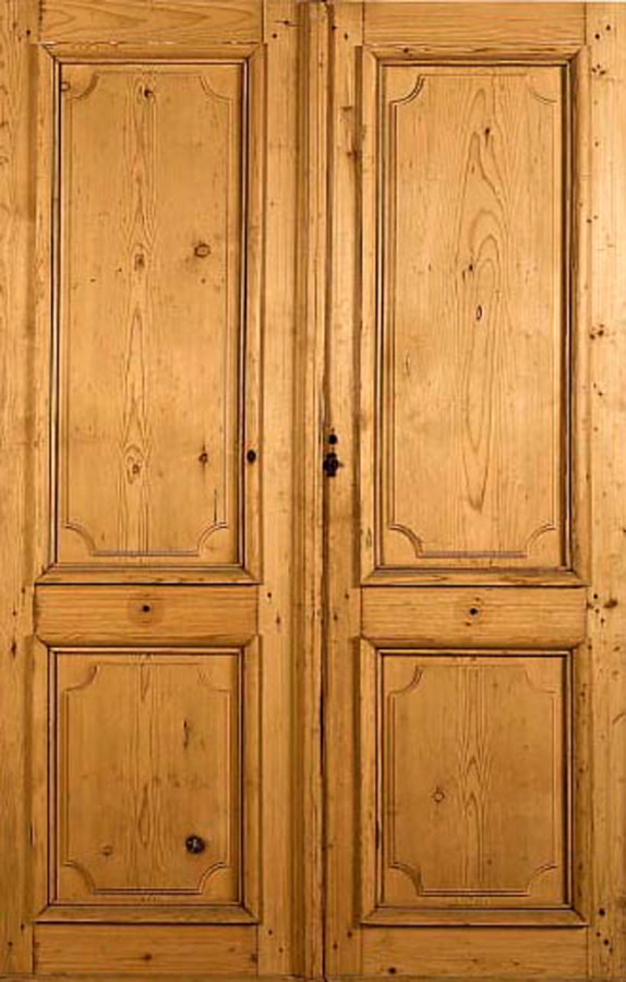antique french double doors photo - 4