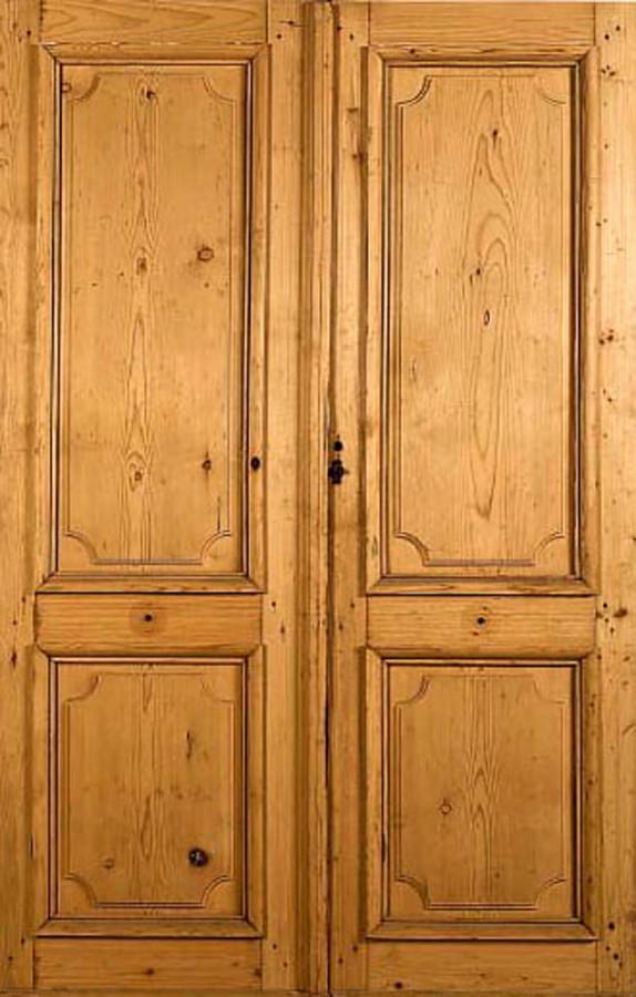 antique french double doors photo - 4