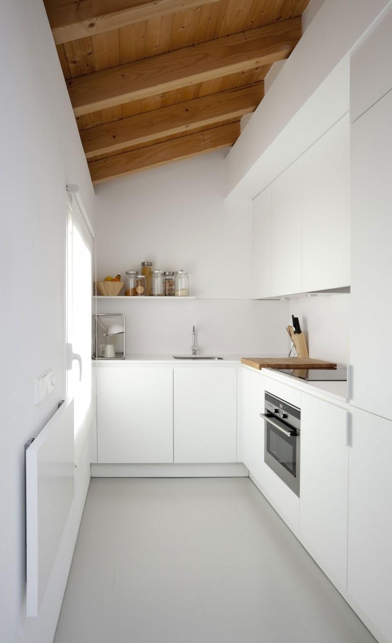 apartment folding kitchen table photo - 4