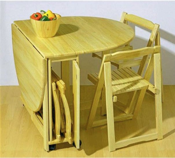 apartment folding kitchen table photo - 5