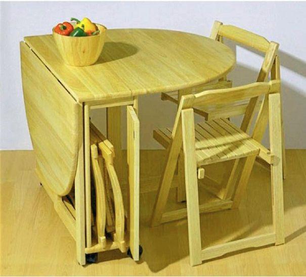 apartment folding kitchen table photo - 5