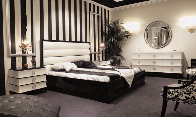 art deco mirrored bedroom furniture photo - 6