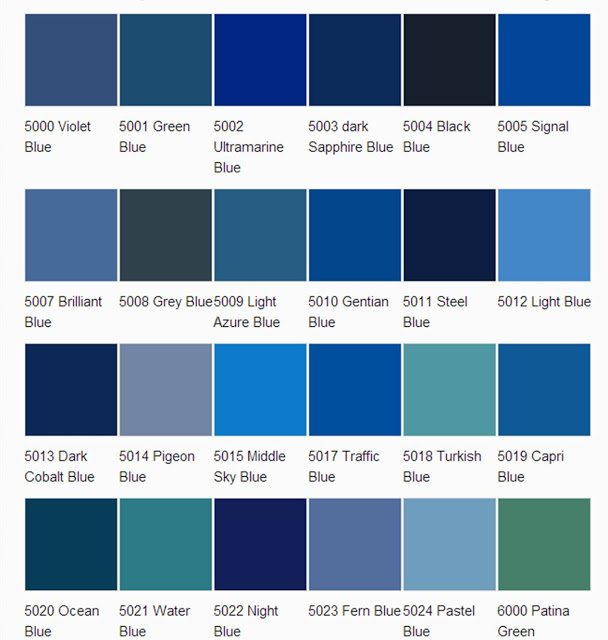 asian paints colour shades blue photo - 3
