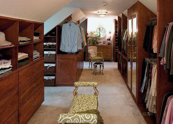 attic bedroom closet ideas photo - 2