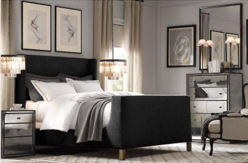 bedroom furniture sets restoration hardware photo - 1