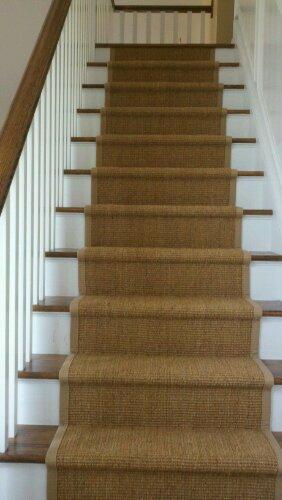 berber carpet runner for stairs photo - 2