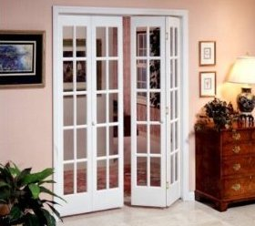 Beautiful Bifold French Doors Interior Lowes Photo   1