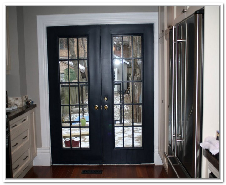 10 Magnificent Black French Exterior Doors Photos Interior