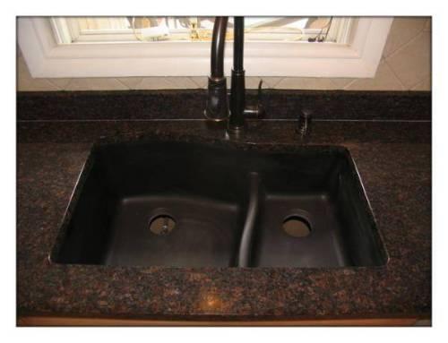 black granite sink lowes photo - 1
