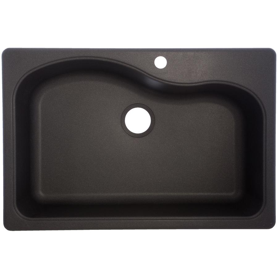 black granite sink lowes photo - 4