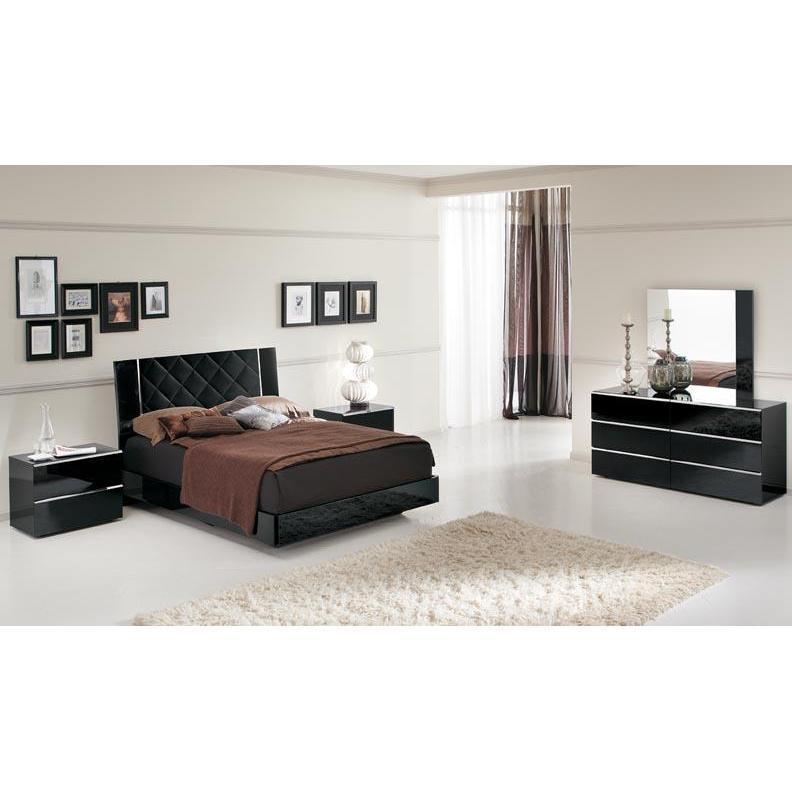 black lacquer bedroom furniture sets photo - 3