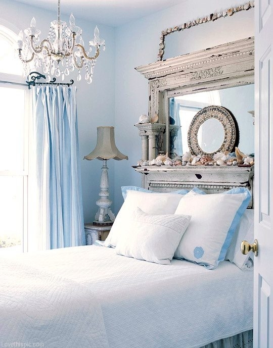 blue and white bedrooms images photo - 4