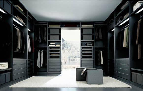 contemporary walk in closet design photo - 5