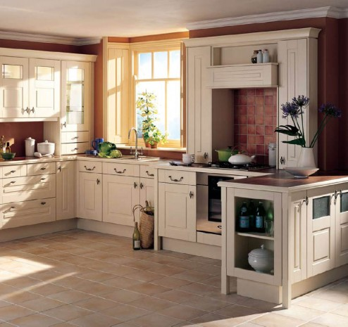country cottage kitchen designs photo - 5