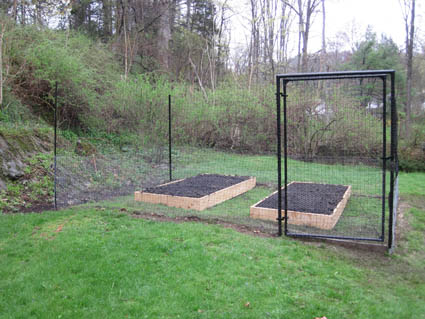 deer proof fence ideas photo - 4