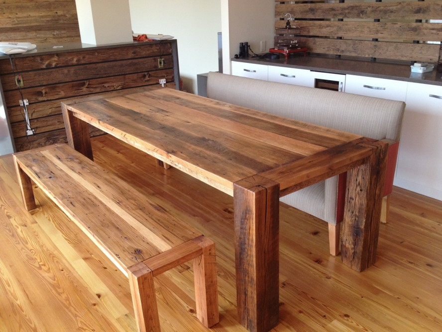 dining tables wood photo - 6