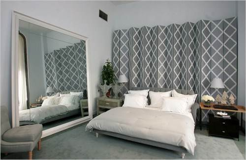 diy hanging room divider screen photo - 4