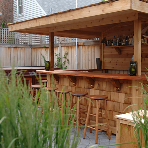 diy outdoor bar designs photo - 2