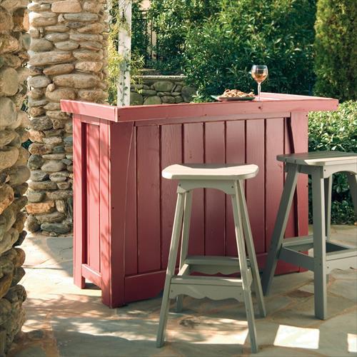 diy outdoor bar designs photo - 3