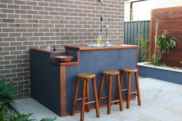 diy outdoor bar designs photo - 6
