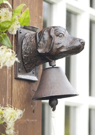 dog bell for door photo - 3
