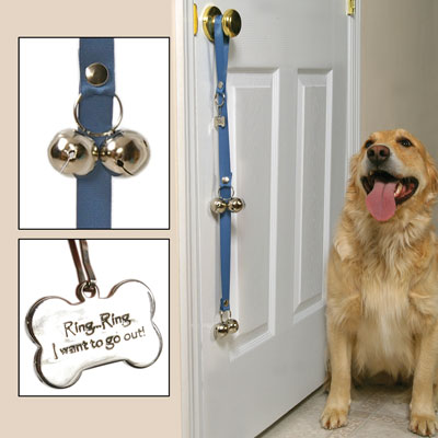 dog bell for door photo - 5