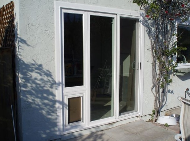 dog door for sliding door photo - 1