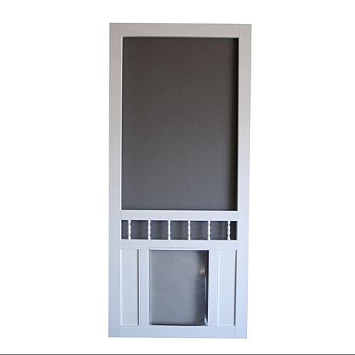 door with built in dog door photo - 4
