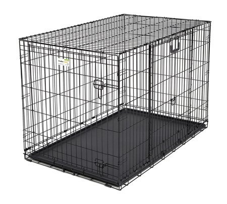 double door dog crate photo - 9