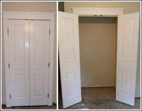 double french closet doors photo - 4