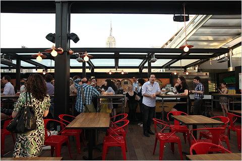 eataly rooftop beer garden photo - 3
