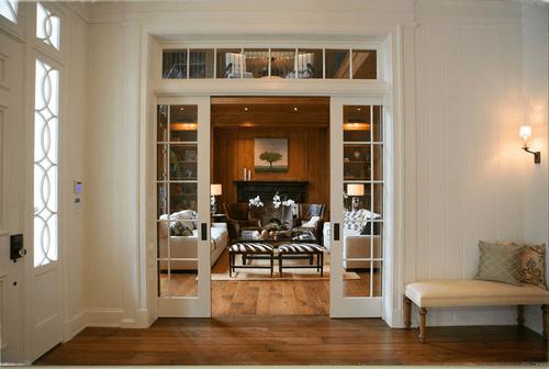 elegant interior french doors photo - 6