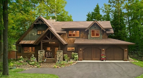 exterior paint colors rustic homes photo - 3