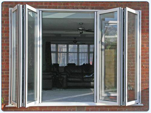 folding french doors exterior photo - 1
