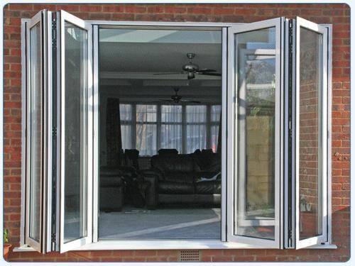 folding french doors exterior photo - 1