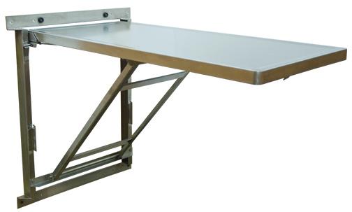 folding kitchen table wall mounted photo - 5