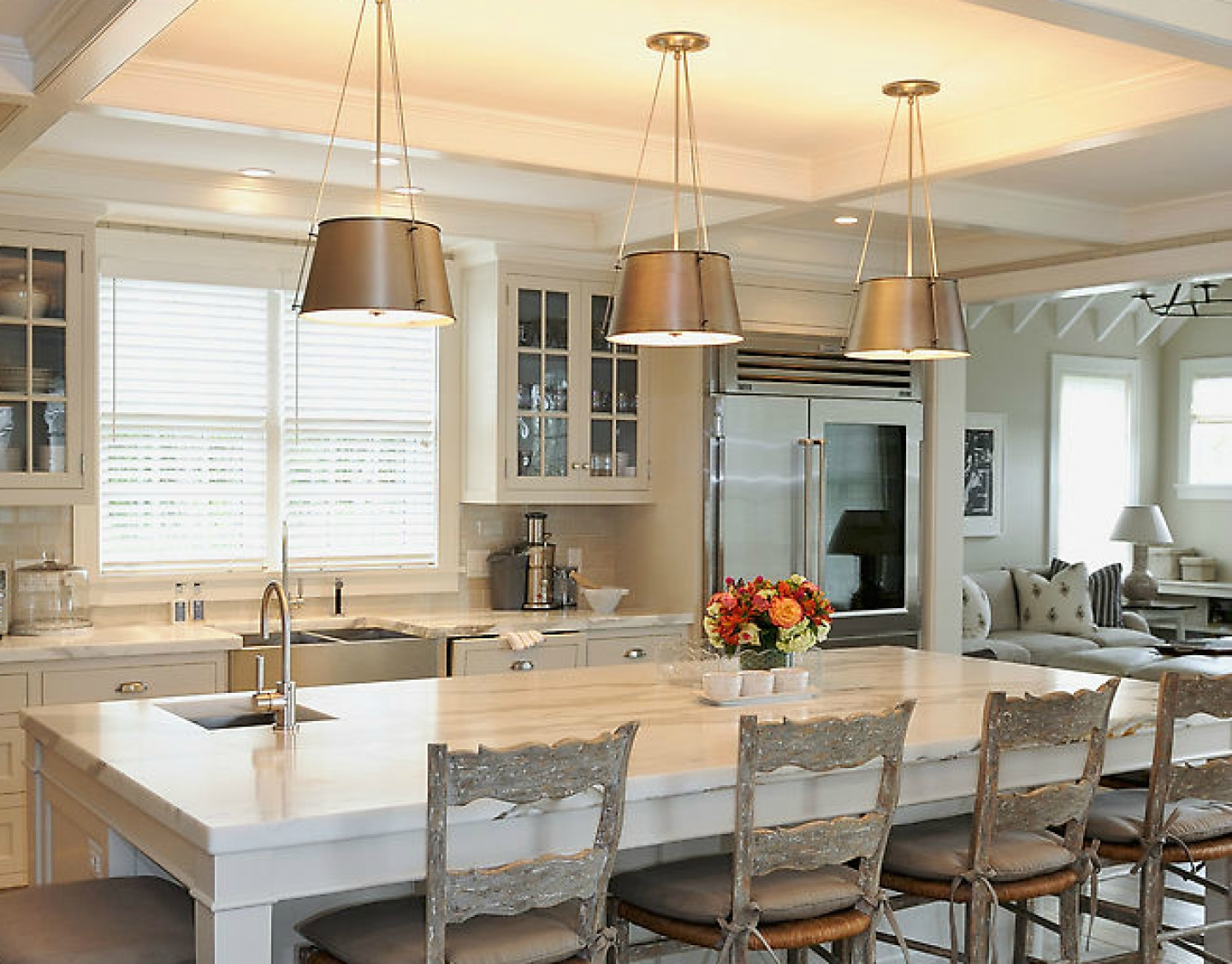 french country kitchen bar stools photo - 1