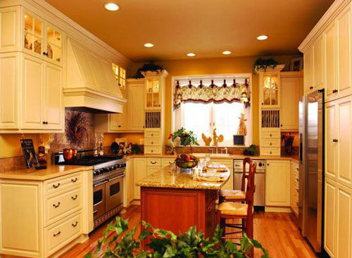 french country kitchen bar stools photo - 2