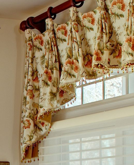 french country kitchen curtains photo - 4